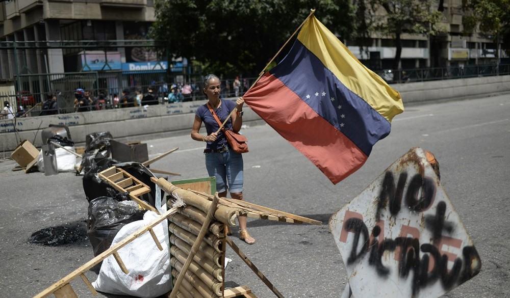 Protestas en Venezuela contra dictador Nicolás Maduro.