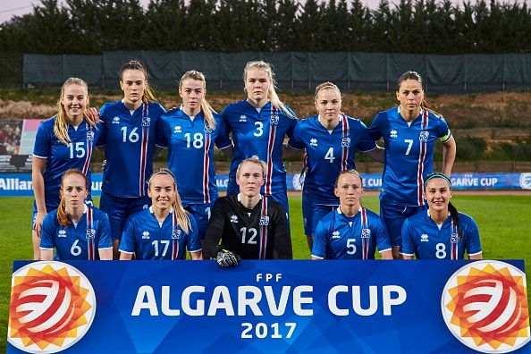 Selección femenina Islandia