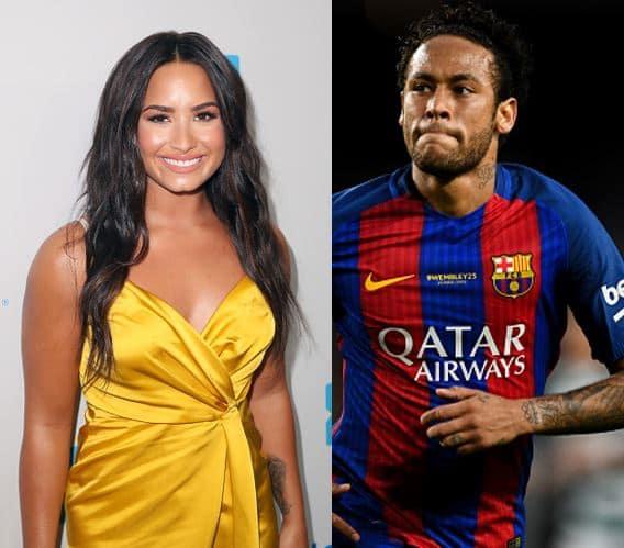 Neymar y Demi Lovato