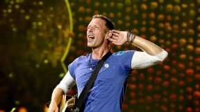 Chris Martin, vocalista de Coldplay