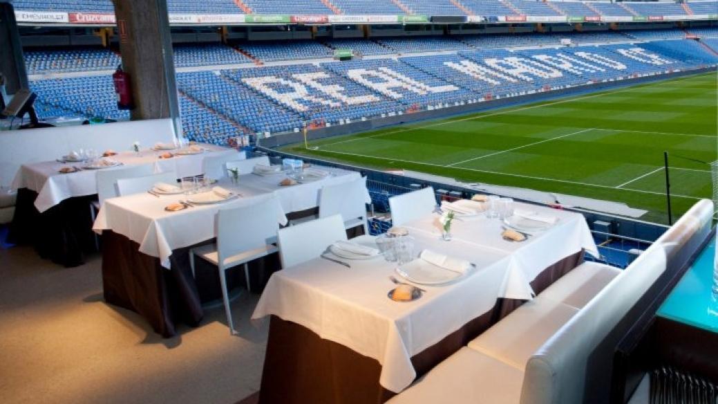 Restaurante 'Real Café' en el estadio Santiago Bernabéu