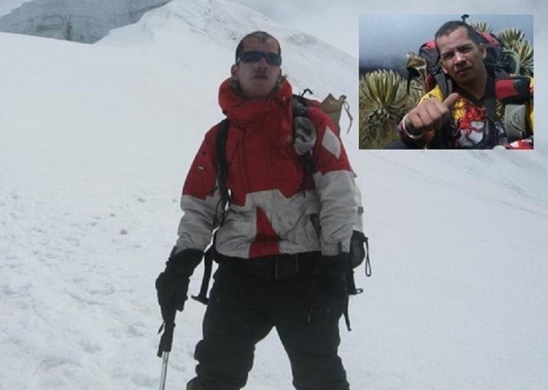 Saúl González, guía montañista muerto