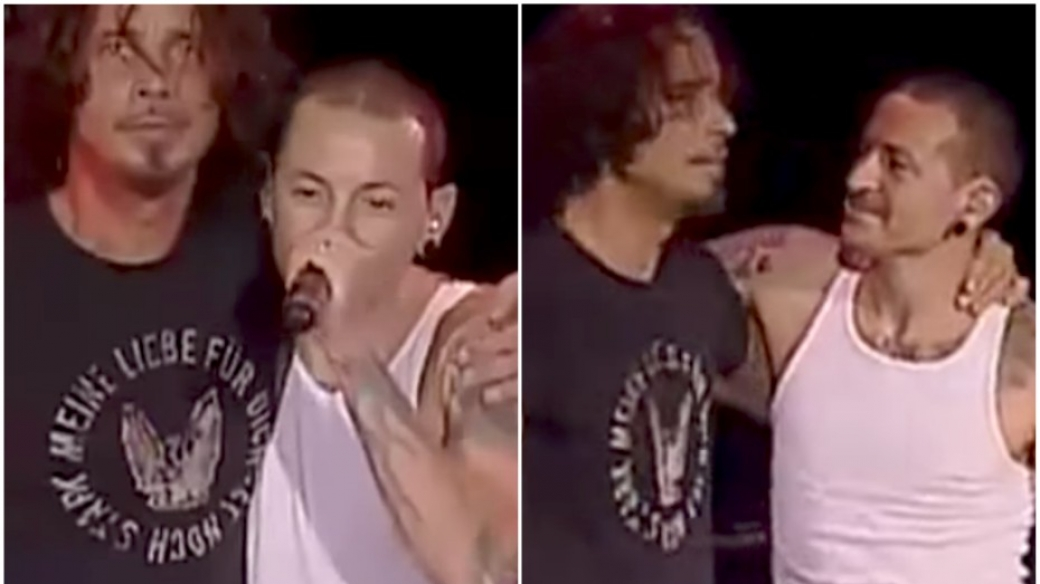 Chris Cornell - Chester Bennington.