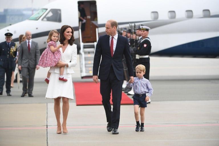 Príncipe William y su familia durante visita a Polonia. Pulzo.com