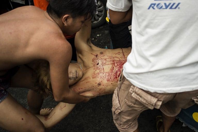 Cadáver de presunto traficante de droga filipino. Pulzo.com