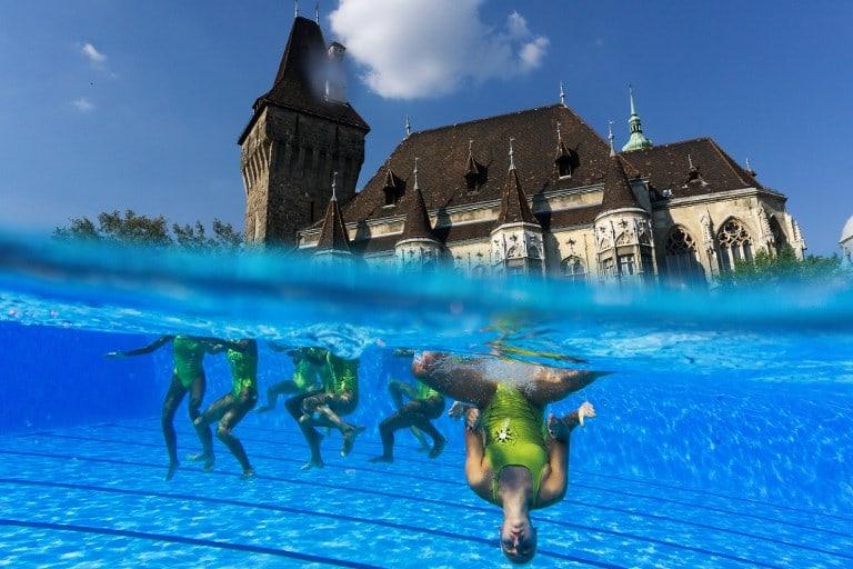 Práctica de natación. Pulzo.com