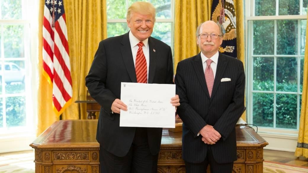 Trump ya recibió al nuevo embajador