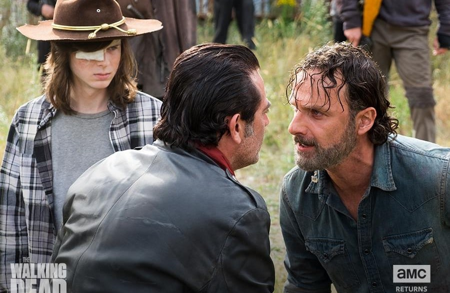 Escena de 'The Walking Dead'. Pulzo.com