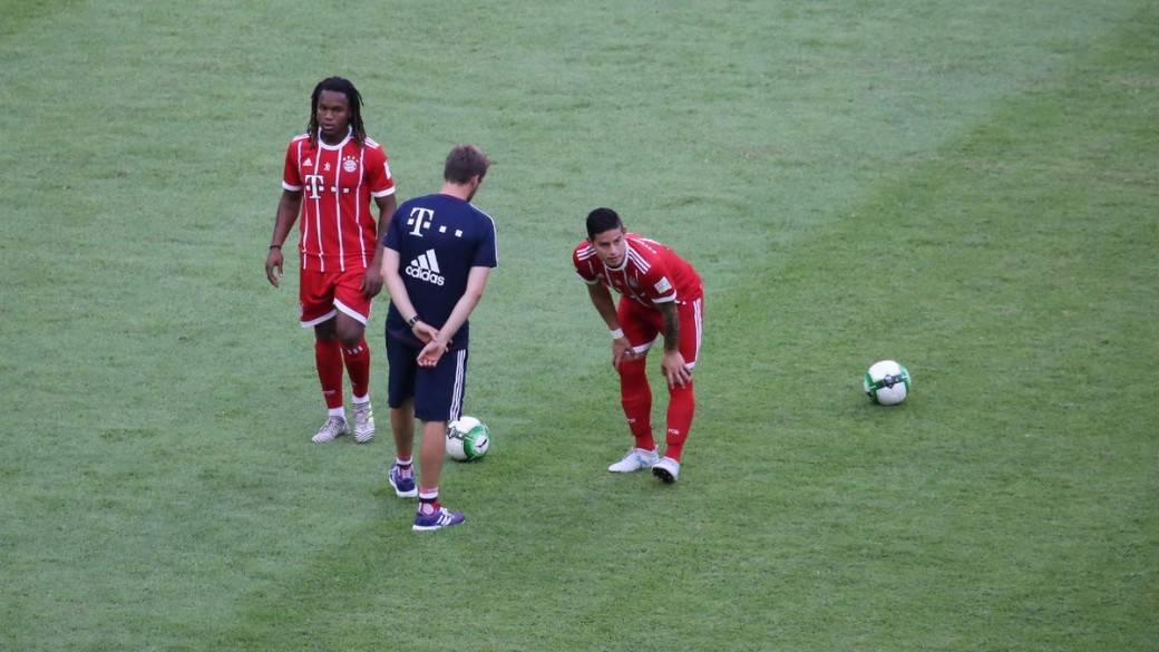 Bayern perdió con Milan