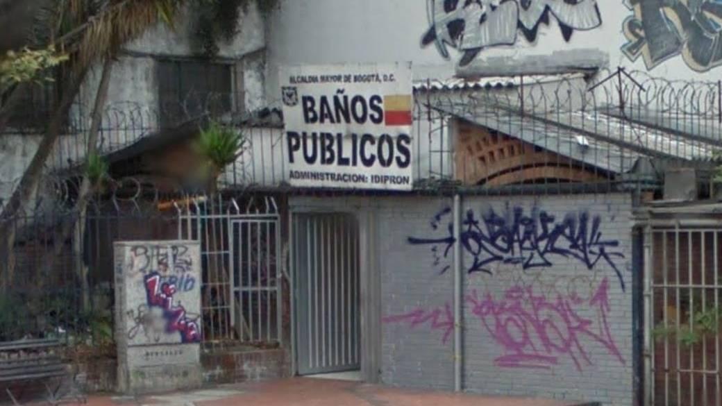 Baños públicos en Chapinero
