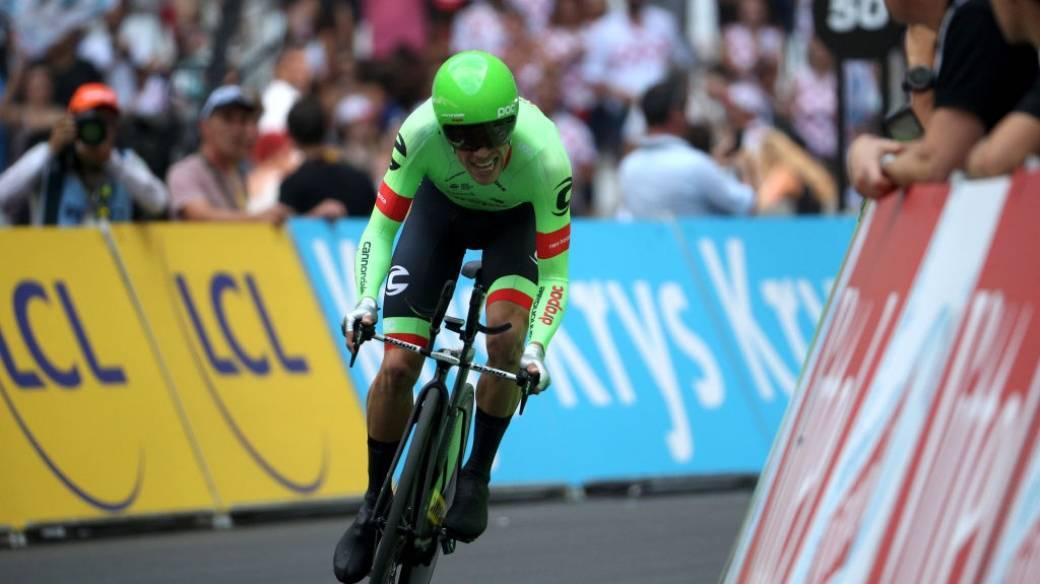 Rigoberto Urán en el Tour de Francia 2017