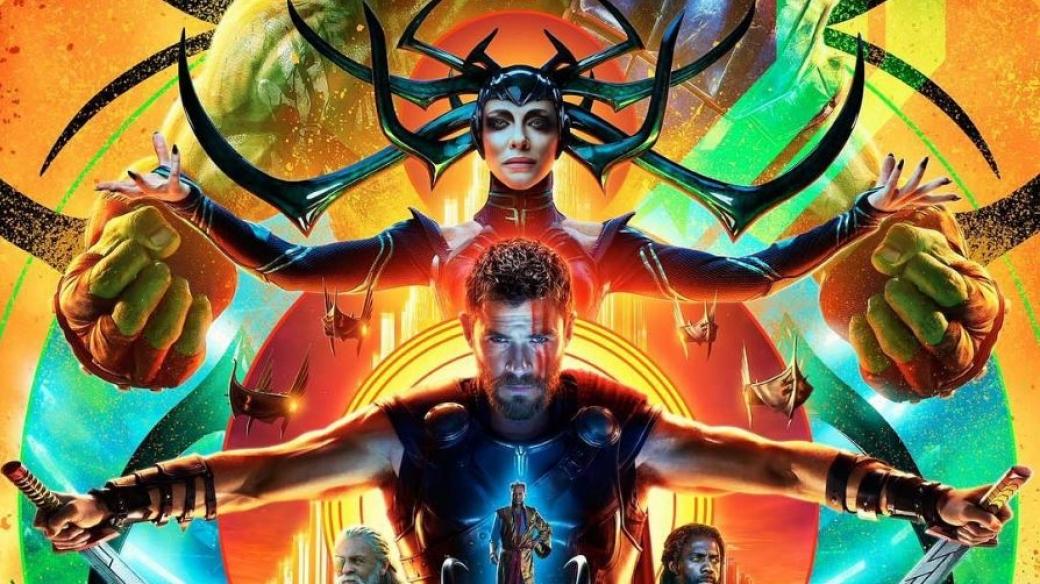 Afiche de 'Thor: Ragnarok'