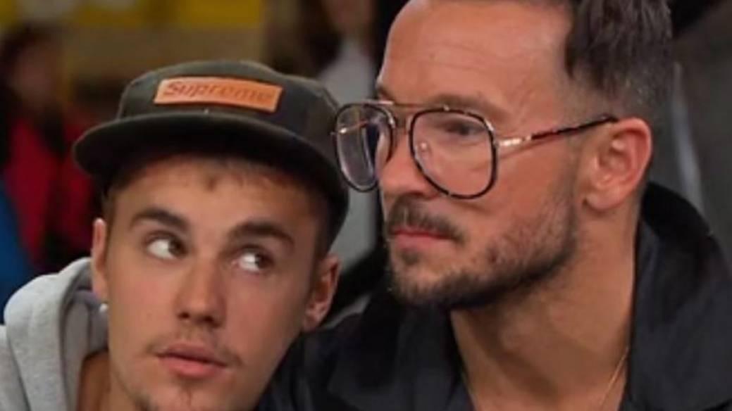 Justin Bieber y Carl Lentz
