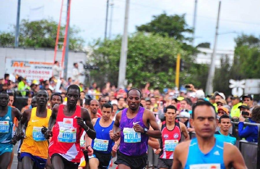 Media Maratón de Bogotá, archivo