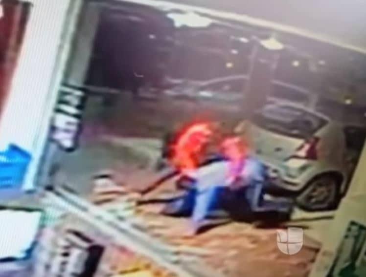 Hijo de Nelly Barona ataca a un guarda de seguridad