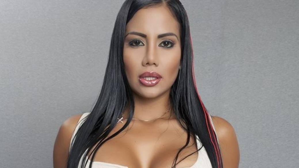 Kathe Martínez, modelo caleña incitada a desnudarse en estación de Policía de Cali