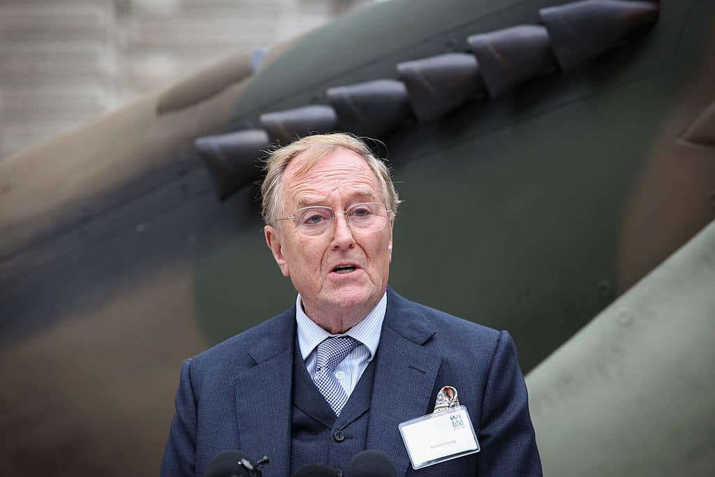 Actor Robert Hardy
