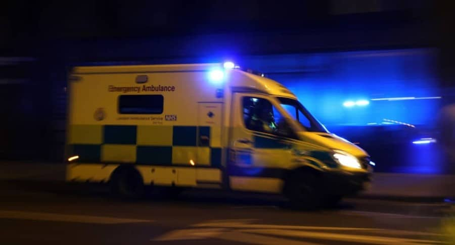 Ambulancia en Londres