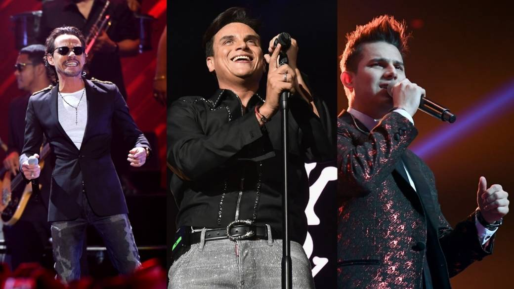 Marc Anthony, Silvestre Dangond y Pipe Bueno - Pulzo.com