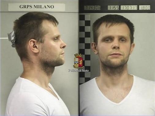Lukasz Pawel, el acusado del delito.