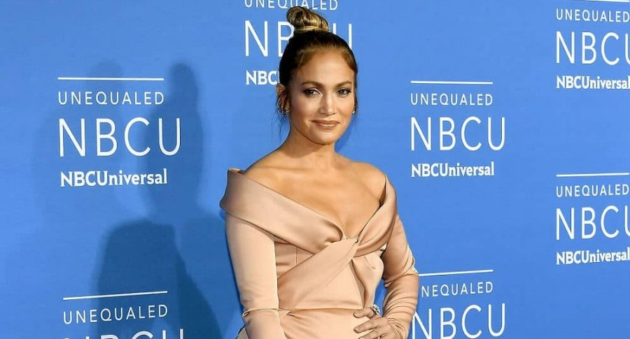 Jennifer Lopez, cantante y actriz.