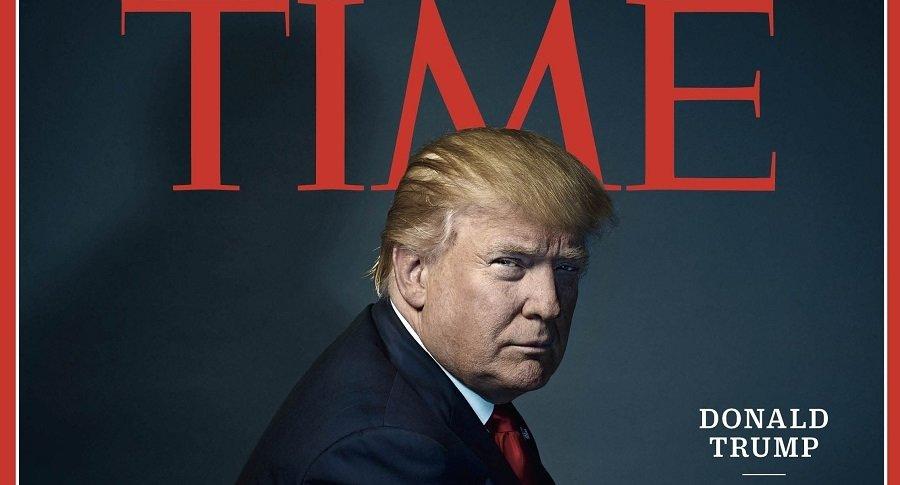 Portada de la revista Time, de diciembre de 2016