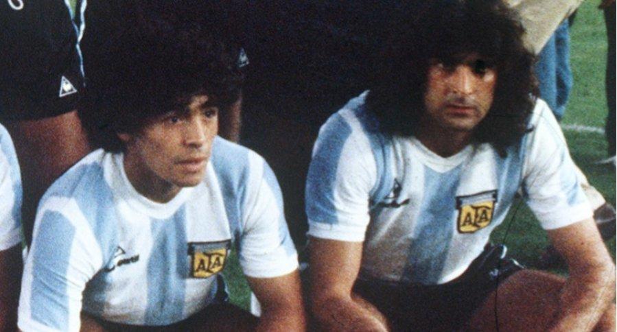 Maradona y Kempes, año 82