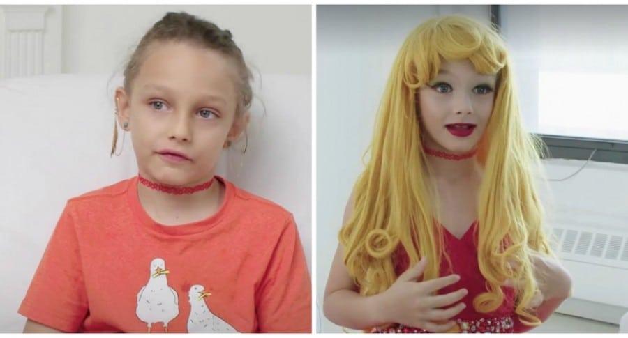 Niño de 8 años se transforma en drag queen