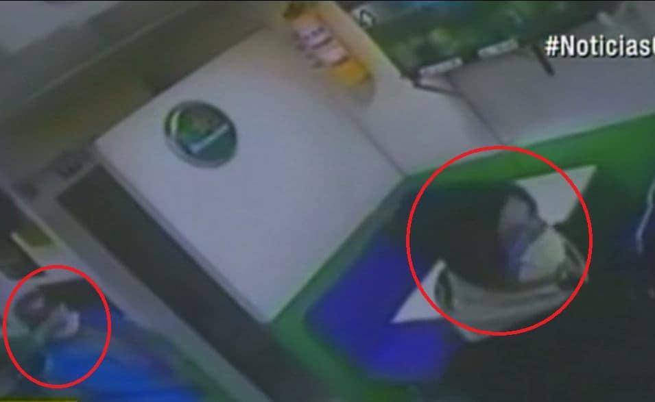 Ladrones cubren el rostro con tapabocast