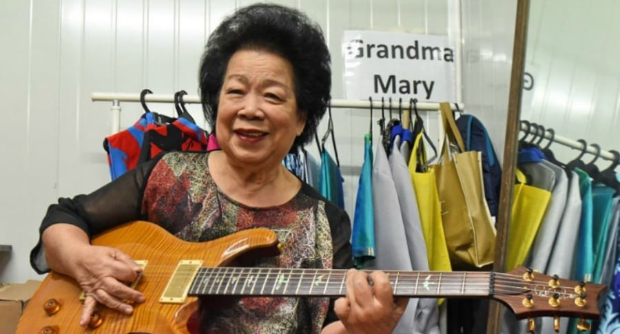 Mary Ho, abuela rockera.