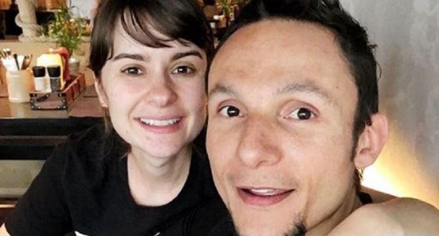 Catalina Zuluaga y su esposo Mario Muñoz, vocalista de Doctor Krápula