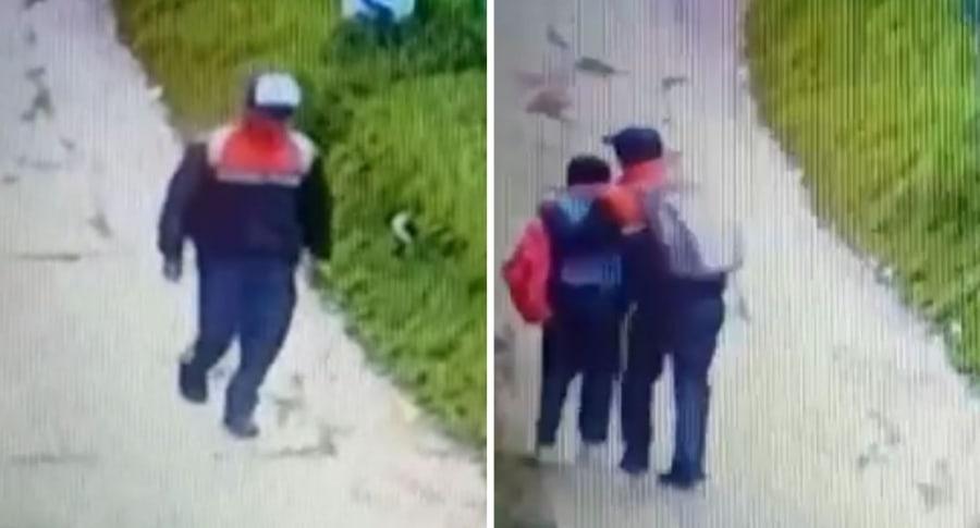 Abusador que acecha niñas en el sur de Bogotá