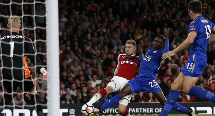 Arsenal 4-3 Leicester