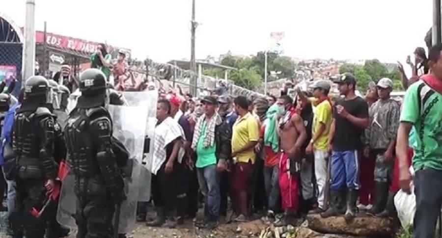Protestas en Segovia, Antioquia