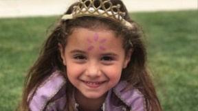 Salomé Rodríguez Ospina, hija del futbolista James Rodríguez y la modelo y empresaria Daniela Ospina.