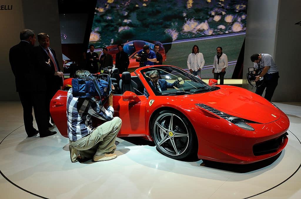 Ferrari 458 Spider. Pulzo.