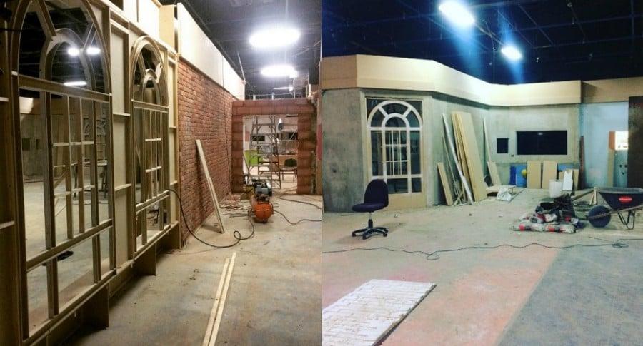 Construcción de casa-estudio Protagonistas RCN 2017