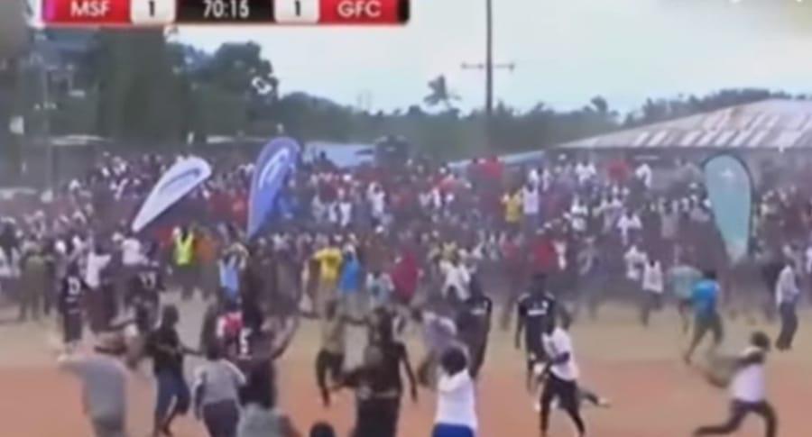 Final de la Copa de Tanzania.