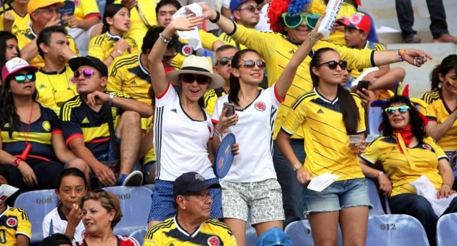 Afición de Colombia