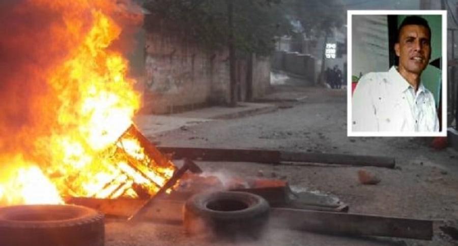 Hombre muerto en protestas de Segovia