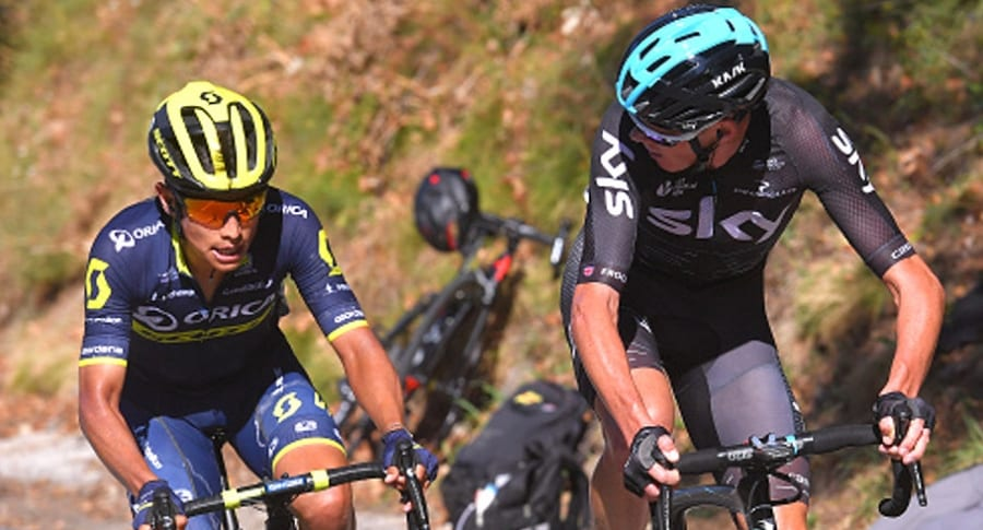 Froome y Chaves Getty