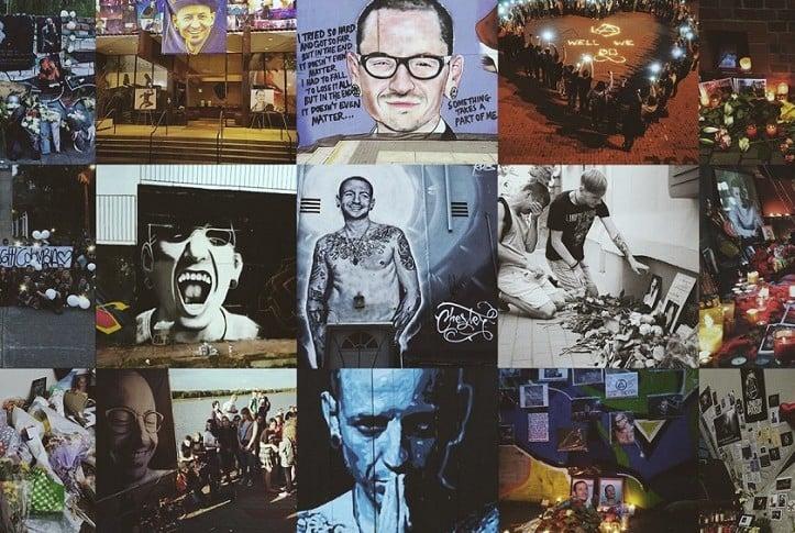Murales en honor a Chester Bennington