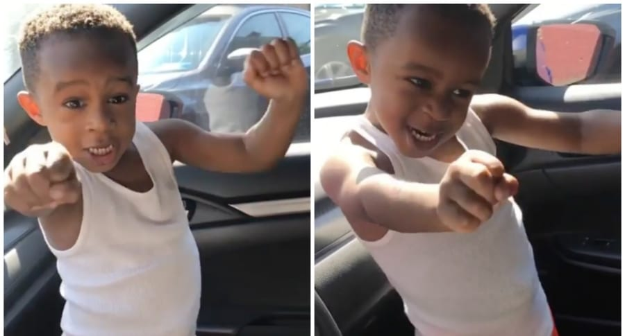 Niño bailando 'Wild Thoughts'. Pulzo.