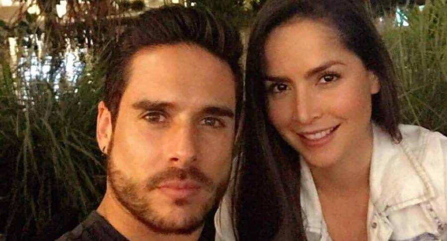 Juan Sebastián Caicedo y su esposa Carmen Villalobos, actores.1