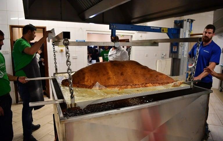 Empanada más grande del mundo