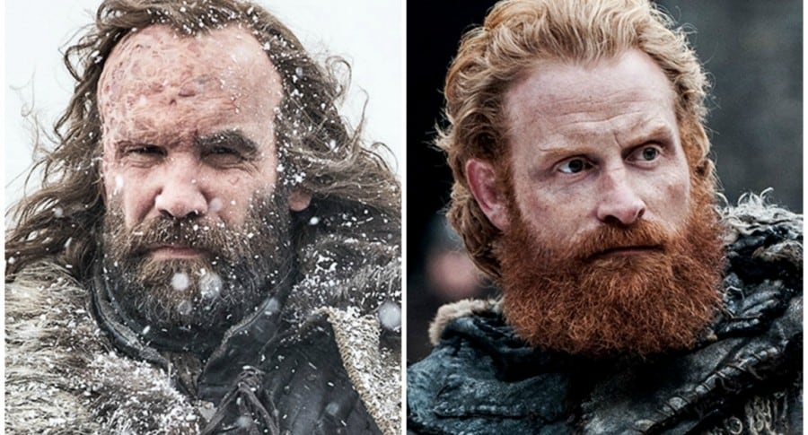 The Hound y Tormund. Pulzo.