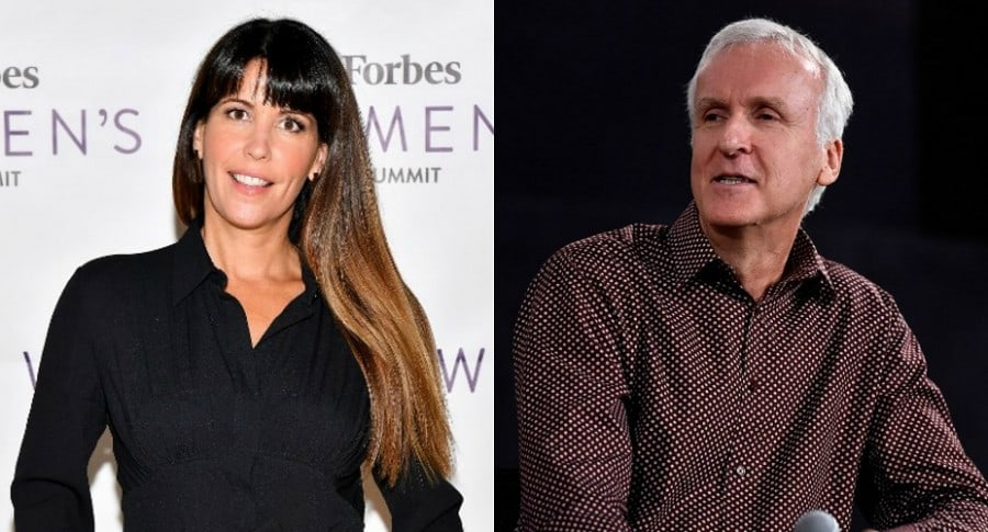 Patty Jenkins y James Cameron