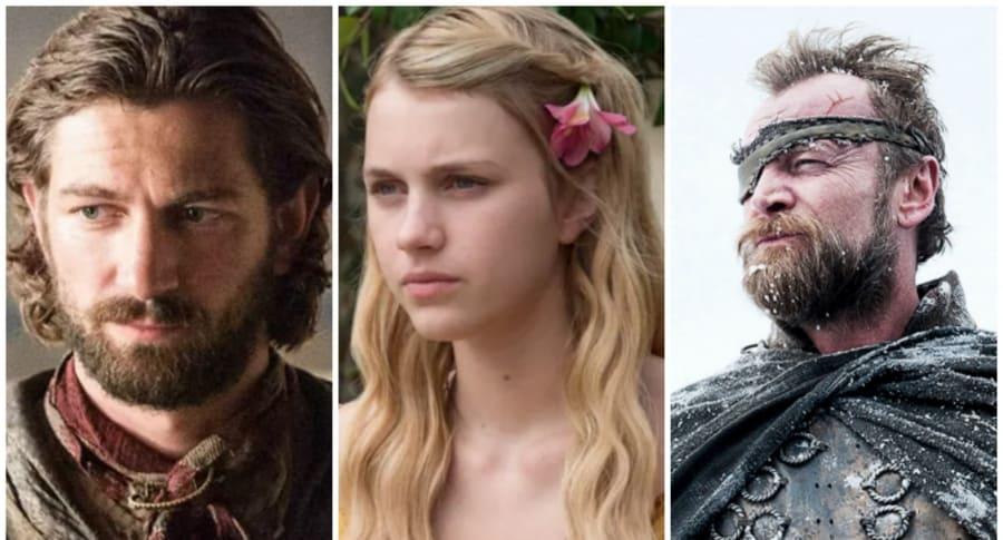 Daario Naharis, Myrcella Baratheon y Beric Dondarrion. Pulzo.