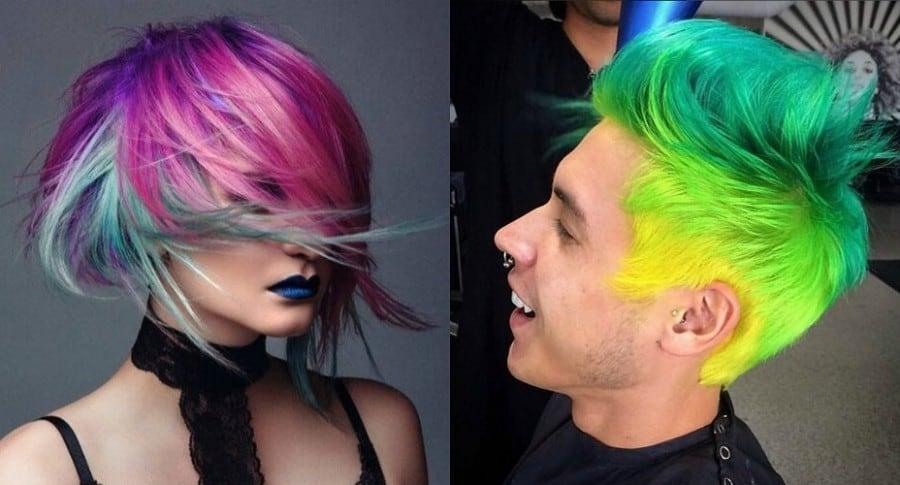 Tinturas para el pelo que cambian de color