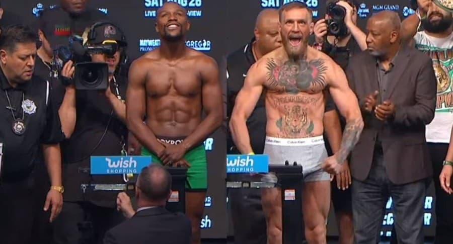 Pesaje Mayweather vs. McGregor
